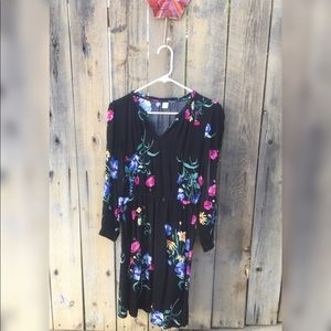 Old Navy Long sleeve Floral Dress